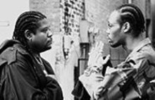 Forest Whitaker and the RZA in Ghost Dog