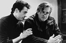 Robert Downey Jr. and Michael Douglas in Wonder Boys
