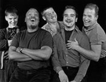 ROBERT  STEVENS - Tracy Collins, Eddie Webb, Robb Kennedy, Keith Thompson and Chris Brenner in Out on Broadway 2000