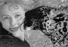 """Kiki Smith, """"Pet,"""" large-format ink-jet print, 22 by 30 inches, 1999"""