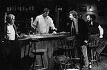J. BRUCE SUMMERS - Stout fellows Thomas Carson, Randall Newsome,  Jack Wetherall and John Ahlin in The Weir