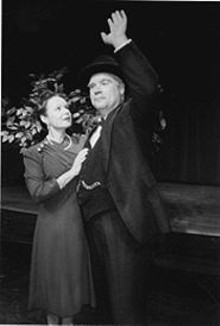 Susie Wall and Christopher Limber in The British Lion: Winston Churchill's Legacy
