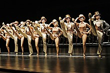 PAUL KOLNIK - Just for kicks: The cast of A Chorus Line delivers a high-energy, memorable show.