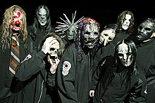 NIGEL CRANE - Slipknot: Halloween's not for a few months, guys.