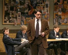 JERRY NAUNHEIM, JR - There's no time for silly: Bryant Richards as straight-shooring Irwin in The History Boys.