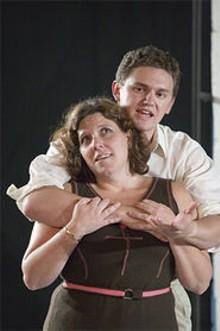 Kelley Ryan and Michael Perkins channel their desire in Pride's Crossing.