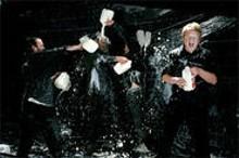 The Hibernauts: Multiple gallons of milk? $108. A milk-fight photo shoot? Priceless.