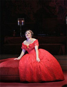KEN HOWARD - Ailyn Perez is Violetta in Verdi's heart- and groundbreaking opera La traviata.