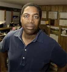 JENNIFER SILVERBERG - Curtis Faulkner, executive director of  the Juneteenth  Heritage & Jazz Festival.