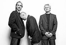 Boys will be boys: Mike Rutherford, Phil Collins and Tony Banks of Genesis.