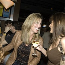JENNIFER SILVERBERG - Deborah Puccio (left) and Natasha Quinn (right) at Miso on Meramec.
