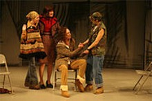 JERRY NAUNHEIM JR - Maggie Hart, Annie Fitzpatrick, Effie Johnson and Celeste Ciulla help in Heidi.