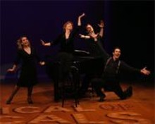 JERRY NAUNHEIM, JR - Not the same ol' song and dance: (left to right) Kristin Maloney, Joanne Bogart, Edwin Cahill and Matt Bailey.