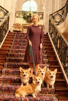 Fit for a Queen: The imitable Helen Mirren (and friends).