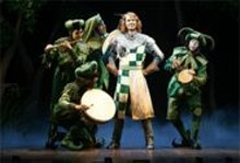 We dance whene'er we're able: Spamalot is - brilliantly silly.