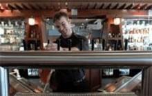 JENNIFER  SILVERBERG - Hooray, beer: Tim Hampton pulls an American IPA.