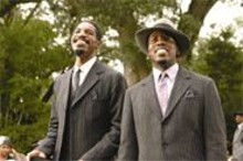 Letterboxxx: Andr Benjamin (left) and Antwan Patton (right) bring talent and bombast to the big screen.