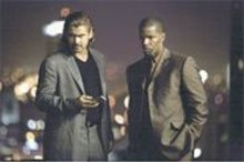Welcome to Miami: Colin Farrell (left) and Jamie Foxx (right) in an explosive adaptation.