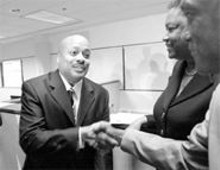BILL  GREENBLATT/UPI - Rumor and suspicion shadowed Creg Williams during his year-long tenure as superintendent of the St. Louis Public Schools.
