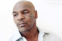 Heavy hitter: Mike Tyson.