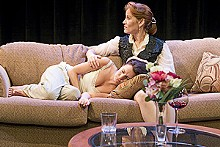 JOHN LAMB - Sarah Cannon and Kirsten Wilder in Muddy Waters' The Lady from Dubuque.