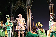LARRY PRY/THE MUNY - What do the simple folk do? Forgive this staging's flaws and enjoy Camelot's story.