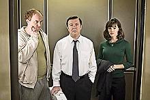 Louis C.K. as Greg, Ricky Gervais as Mark and Jennifer Garner as Anna