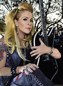 """TYLER CLINTON - Lita Ford: """"We didn't want to do an album that was lightweight and adult contemporary."""""""