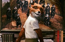 George Clooney voices Mr. Fox.