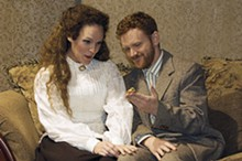 STEVE KRIECKHAUS - Leah Berry and Stephen Rich in Avalon's production of An O. Henry Christmas.