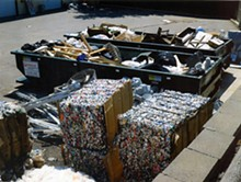Parkway recycled 1,304 tons of waste last year. See more photos.