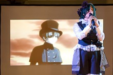 JENNIFER SILVERBERG - Moriah Douglas, 18, from Ashland, Tennessee, performing as Ciel Phantomhive from Black Butler.