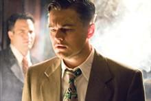 ANDREW COOPER - Shutter to think: Ben Kingsley, Leonardo DiCaprio, director Martin Scorsese and Mark Ruffalo on the set.