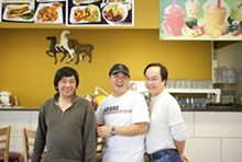 JENNIFER SILVERBERG - Mother knows best: Mama Pho owners Vincent Huynh, Loi Lam and Richard Ly.