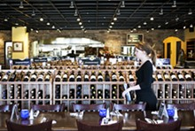 JENNIFER SILVERBERG - There's plenty of food and wine to pick from at Balaban's Wine Cellar & Tapas Bar.