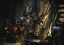JERRY NAUNHEIM JR. - Partners in Crime: Jimmy King and Triney Sandoval in the Rep's Crime and Punishment.