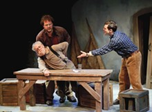 PETER WOCHNIAK - For the birds: Jerry Vogel, Jason Cannon and Scott McMaster in Outlying Islands.