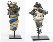 Philadelphia Wireman, selection of sculptures
