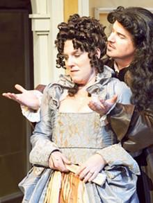 JOHN LAMB - Gary Wayne Barker and Kelley Ryan in Tartuffe.