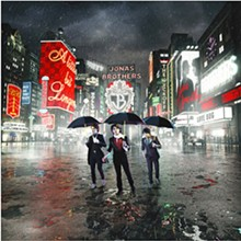 "Joseph Cultice shot this cover for the Jonas Brothers' 2008 release ""A Little Bit Longer"""