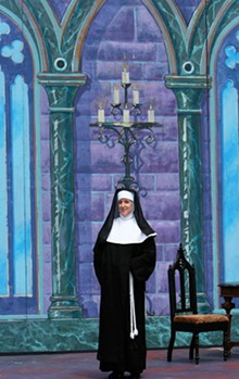 LARRY PRY/THE MUNY - The good Mother: Linda Mugleston in the Muny's Sound of Music.