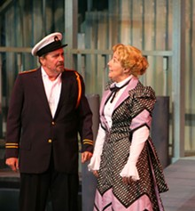 LARRY PRY/THE MUNY - Pleasure cruise: Gary Beach and Georgia Engel in the Muny's Show Boat.