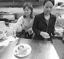 JENNIFER  SILVERBERG - Lien Ho and Joan Ho of Little Saigon Café