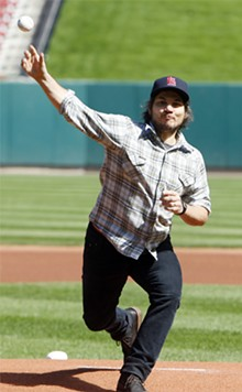 BILL GREENBLATT/UPI - Jeff Tweedy: He's thowing some heat on and off the ball field.