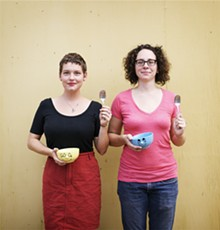 JENNIFER SILVERBERG - Maggie Ginestra and Amelia Colette Jones founded Sloup to foster local creativity one microgrant at a time.