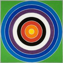 MILDRED LANE KEMPER ART MUSEUM - John McCraken, Mandala VI, 1972, acrylic on canvas, 72 by 72 inches.