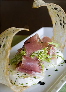 JENNIFER SILVERBERG - Cielo's buffalo mozzarella, prosciutto and extra-virgin olive oil antipasto is a sure bet.