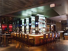 JENNIFER SILVERBERG - So Sleek: Lumière Place's steak house.