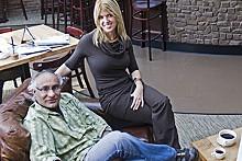 JENNIFER SILVERBERG - Sweet escape: Dr. Gurpreet Padda and Ami M. Grimes, owners of Cafe Ventana.
