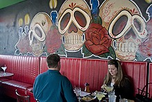 JENNIFER SILVERBERG - El Borracho aims to combine taqueria fare with Tarantino flair.